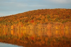 Rockland Lake, Oct 2009. Photo Credit: Dave Zornow