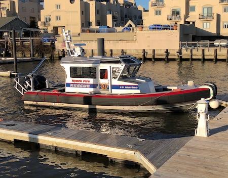Nyack Fire Boat, 10 Marine