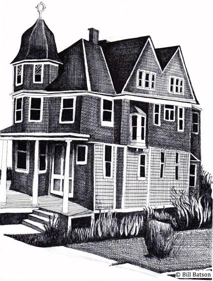 Nyack sketch log a legally haunted house nyack news and for Hudson log