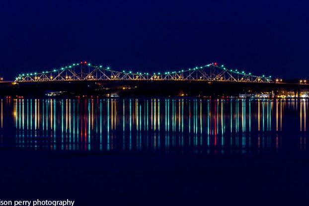 The Tappan Zee Bridge, winter, 2014. Photo Credit: Alison Perry