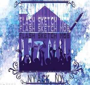 Flash Sketch Mob 2015 logo