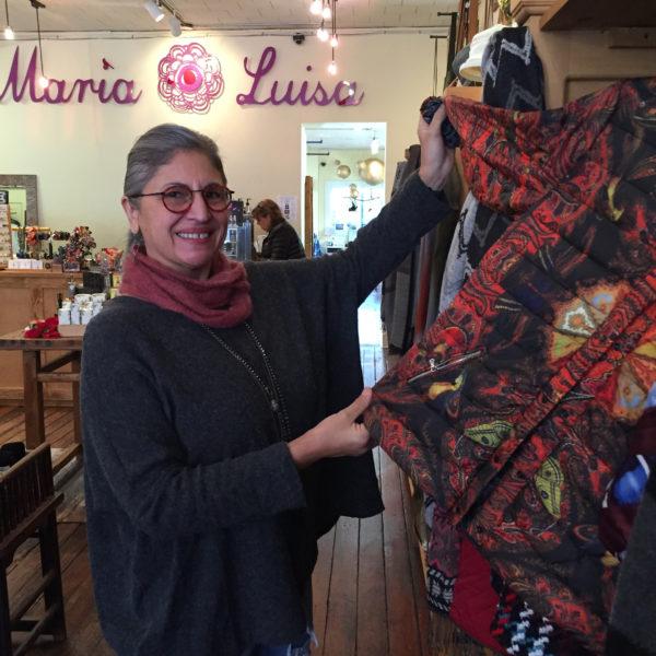 Maria Whittingham, owner of Maria Luisa Boutique