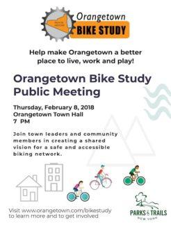 Orangetown Bike Study Mtg, 20180208