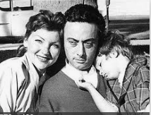Family man Lenny Bruce in the 1950s before he was popular.