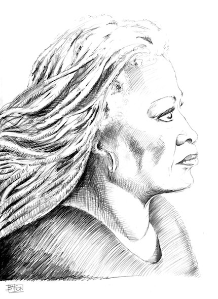 Toni Morrison by Bill Batson